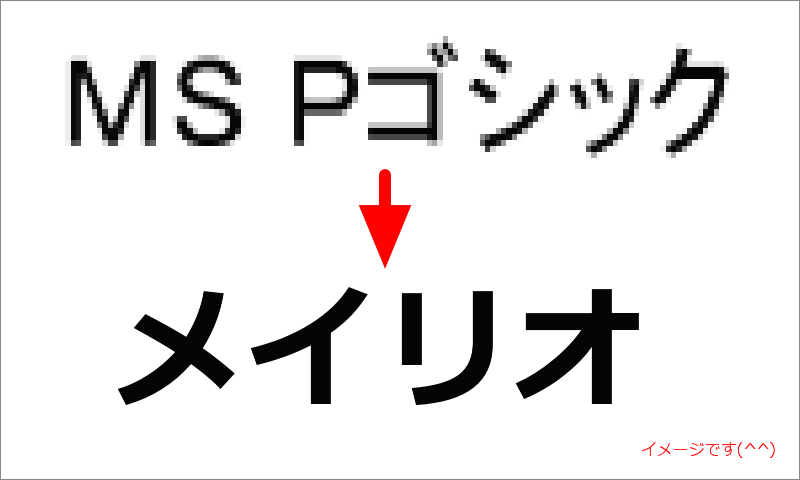 アメブロをメイリオフォントで表示するカスタマイズ方法